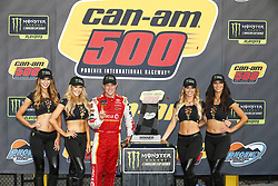 November 12, 2017 - Avondale, Arizona, United States of America - November 12, 2017 - Avondale, Arizona, USA: Matt Kenseth (20) and crew celebrate after winning the Can-Am 500(k) at Phoenix Raceway in Avondale, Arizona. (Credit Image: © Justin R. Noe Asp Inc/ASP via ZUMA Wire)