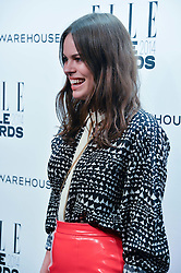 ATLANTA DE CADENET at the 17th Elle Style Awards 2014 in association with Warehouse held at One Embankment, 8 Victoria Embankment, London on 18th February 2014.