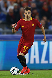 October 31, 2017 - Rome, Italy - Stephan El Shaarawy of Roma during the UEFA Champions League group C match between AS Roma and Chelsea FC at Stadio Olimpico on October 31, 2017 in Rome, Italy. (Credit Image: © Matteo Ciambelli/NurPhoto via ZUMA Press)