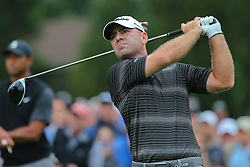 September 8, 2018 - Newtown Square, Pennsylvania, United States - Ryan Armour tees off the 11th hole during the third round of the 2018 BMW Championship. (Credit Image: © Debby Wong/ZUMA Wire)
