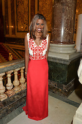 JUNE SARPONG at the LDNY Fashion Show and WIE Award Gala sponsored by Maserati held at The Goldsmith's Hall, Foster Lane, City of London on 27th April 2015.