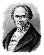 (Francois Marie) Charles Fourier (1772-1837) French social theorist. Engraving