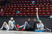Team Zalgiris Kaunas pregame, AX ARMANI EXCHANGE OLIMPIA MILANO vs ZALGIRIS KAUNAS, EuroLeague 2017/2018, Mediolanum Forum, Milano 9 novembre 2017 - FOTO Bertani/Ciamillo-Castoria