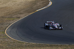 September 14, 2018 - Sonoma, California, United Stated - WILL POWER (12) of Australia takes to the track to practice for the Indycar Grand Prix of Sonoma at Sonoma Raceway in Sonoma, California. (Credit Image: © Justin R. Noe Asp Inc/ASP via ZUMA Wire)