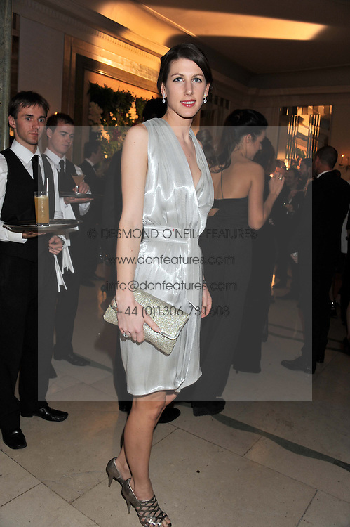 SUSANNA WARREN at a dinner and dance hosted by Leon Max for the charity Too Many Women in support of Breakthrough Breast Cancer held at Claridges, Brook Street, London on 1st December 2011.