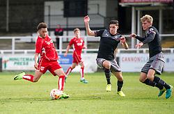 Freddie Hinds of Bristol City U23 has a shot at goal - Mandatory by-line: Paul Knight/JMP - 16/02/2017 - FOOTBALL - Twerton Park - Bath, England - Bristol City U23 v Southampton U23 - Premier League 2 Cup