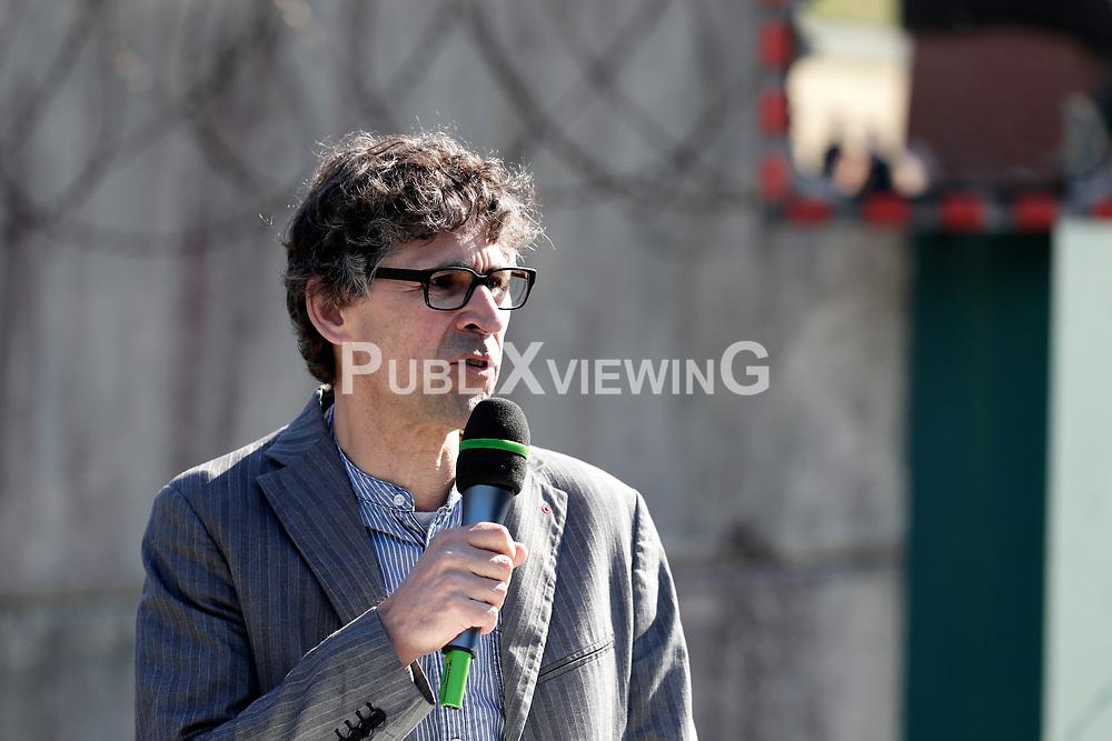Portrait: Martin Donat, Vorsitzender der Bürgerinitiative Umweltschutz Lüchow-Dannenberg<br /> <br /> Ort: Erkundungsbergwerk Gorleben<br /> Copyright: Andreas Conradt<br /> Quelle: PubliXviewinG