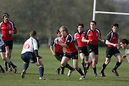 Canada U17's v Portugal U17's match at the Millfield Rugby Festival 2009 at Millfield School , Street in Somerset, England.<br /> <br /> All pictures are here, these pictures are available to purchase on-line as personal use downloads. to purchase click add to cart, payment is made by paypal and your image will be available for download within minutes. once you download the file you may get that printed yourself (at your expense) The file will print up to atleast 12x8 inches.