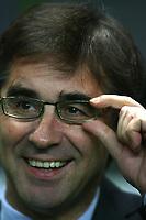 Photo: Andrew Unwin.<br /> Newcastle United v Celta Vigo. UEFA Cup. 23/11/2006.<br /> Celta Vigo's Fernando Vazquez.