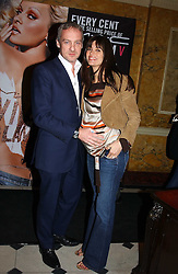 LISA B and ANTON BILTON at a party to celebrate Pamela Anderson's new role as spokesperson and newest face of the MAC Aids Fund's Viva Glam V Campaign held at Home House, Portman Square, London on 21st April 2005.<br />