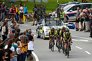 Mitchelton - Scott during the 2018 UCI Road World Championships, Men's Team Time Trial cycling race on September 23, 2018 in Innsbruck, Austria - Photo Luca Bettini / BettiniPhoto / ProSportsImages / DPPI