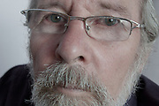 An older white man with grey hair and glasses, Kent, UK . Thursday, une 19th 2008