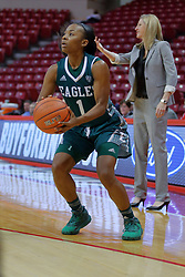 10 December 2017: Sasha Dailey during an College Women's Basketball game between Illinois State University Redbirds and the Eagles of Eastern Michigan at Redbird Arena in Normal Illinois.