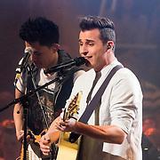 NLD/Amsterdam/20140410 - Uitreiking 3FM Awards 2014, optreden Nielson