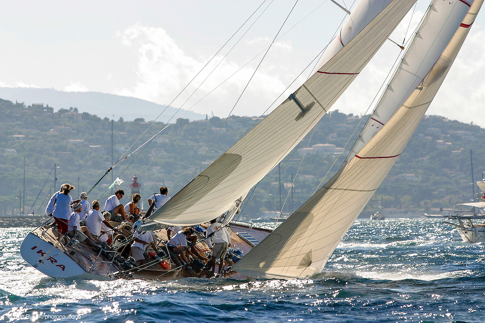 IKRA K3, voile, 12M, Jauge internationale,Régate St Tropez