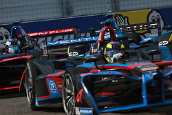 July 15, 2017 - New York, USA - Motorsports: FIA Formula E race 09/10 New York, .#5 Maro Engel (GER,Venturi) (Credit Image: © Hoch Zwei via ZUMA Wire)