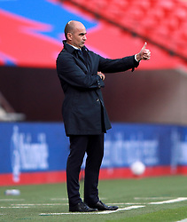 File photo dated 11-10-2020 of Belgium manager Roberto Martinez. Issue date: Tuesday June 1, 2021.