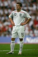 Photo: Tom Dulat.<br /> England v Estonia. UEFA European Championships Qualifying. 13/10/2007.<br /> Michael Owen of England.