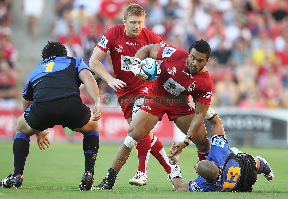 Action during the Super 15 match between the Queensland Reds and the Western Force. Half time (Force -12) leading the (Reds - 6)...Played at Lang Park, Brisbane (20 February 2011)...Photo: SMP IMAGES (Warren Keir)