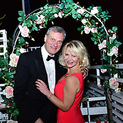 David Grose and Inge Neaves attend Rochay High Society Soiree with Jovoy at Westbury Mayfair grafton suite on 21 November 2019, London, UK.