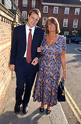 BEN GOLDSMITH and his mother LADY ANNABEL GOLDSMITH at Sir David & Lady Carina Frost's annual summer party held in Carlyle Square, Chelsea, London on 5th July 2006.<br /><br />NON EXCLUSIVE - WORLD RIGHTS