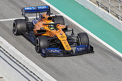 February 19, 2019 - Spain - Lando Norris (McLaren F1 Team) seen in action during the winter test days at the Circuit de Catalunya in Montmelo  (Credit Image: © Fernando Pidal/SOPA Images via ZUMA Wire)