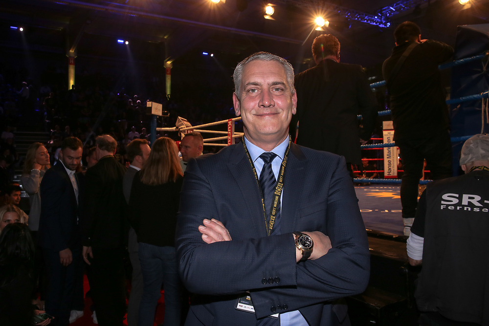 BOXEN: EC Boxing & SES Boxing, Hamburg, 18.01.2020<br /> Promoter Ulf Steinforth (SES)<br /> © Torsten Helmke