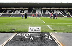 The iPro Stadium home of Derby County - Mandatory byline: Robbie Stephenson/JMP - 07966 386802 - 03/10/2015 - FOOTBALL - iPro Stadium - Derby, England - Derby County v Brentford - Sky Bet Championship