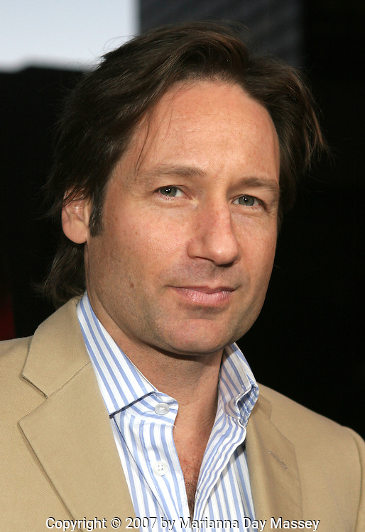 Mar 27, 2007 - Los Angeles, CA, USA - Actor DAVID DUCHOVNY arrives at the premiere of 'The TV Set' at the Crest Theater in Los Angeles. (Credit Image: © Marianna Day Massey/ZUMA Press)