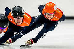Suzanne Schulting during the training for ISU World Cup Finals Shorttrack 2020 on February 12, 2020 in Sportboulevard Dordrecht.