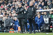 Oldham Athletic caretaker manager Pete Wild during The FA Cup 3rd round match between Fulham and Oldham Athletic at Craven Cottage, London, England on 6 January 2019.