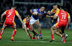 Wakefield Trinity's Reece Lyne in action during the Betfred Super League match at Belle Vue, Wakefield.