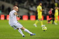 Remy RIOU - 31.01.2015 - Nantes / Lille - 23eme journee de Ligue 1 -<br />Photo : Vincent Michel / Icon Sport