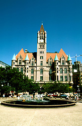 Minnesota: Minneapolis- St. Paul..Landmark Center..Photo copyright Lee Foster, www.fostertravel.com..Photo #: mnqual104, 510/549-2202, lee@fostertravel.com