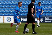 Elliot Newby. Stockport County FC 2-2 Maidenhead United FC. Vanarama National League. Edgeley Park. 17.4.21