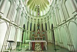 A Igreja de Nossa Senhora do Bom Despacho (de 1918), localizada no alto do Morro do Seminário, é uma igreja com características neogóticas, localizada no município brasileiro de Cuiabá, estado de Mato Grosso. FOTO: Jefferson Bernardes/ Agência Preview