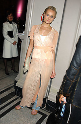 KALITA AL-SWAIDI at a fashion show and after party to celebrate the 20th Anniversay of fashion designer Ozwald Boateng held at the Victoria & Albert Museum, London on 25th November 2005.<br /><br />NON EXCLUSIVE - WORLD RIGHTS