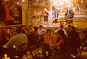 SPAIN, MADRID, LIFESTYLE 'Los Gabrieles' bar famous for murals