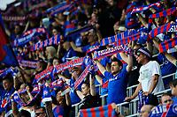 Fotball , Eliteserien<br /> 11.06.2021 , 20210611<br /> Vålerenga - Lillestrøm<br /> Hjemmefans før kampen<br /> Foto: Sjur Stølen / Digitalsport