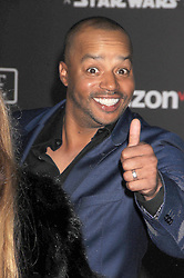 December 10, 2016 - Hollywood, California, U.S. - Actor DONALD FAISON gives thumbs up, at the World Premiere for ''Rogue One Star Wars'' held at the Pantages Theater, Holywood. (Credit Image: © Paul Fenton via ZUMA Wire)