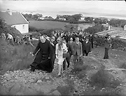 15/06/1961<br /> 06/15/1961<br /> 15 June 1961<br /> <br /> A Royal Visit to Ireland by Princess Grace and Prince Rainier of Monaco. The royal couple at Westport, Co. Mayo.<br /> The Royal couple climbed Croagh Patrick.