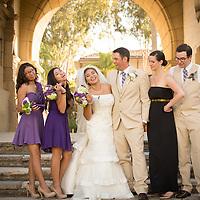 Ailene & Colin Erdle Santa Barbara Courthouse Wedding