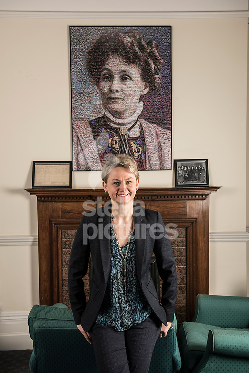 Yvette Copper MP pictured in her offices at Portcullis House, Westminster<br /> Picture by Daniel Hambury/Stella Pictures Ltd 07813022858<br /> 18/12/2017