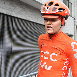 29-02-2020: Wielrennen: Omloop Nieuwsblad: Ninove: Jeanne Korevaar