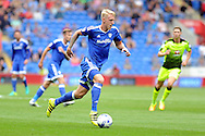 Cardiff City's Lex Immers goes on the attack. EFL Skybet championship match, Cardiff city v Reading at the Cardiff city stadium in Cardiff, South Wales on Saturday 27th August 2016.<br /> pic by Carl Robertson, Andrew Orchard sports photography.