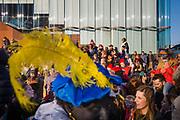 Antwerp, Belgium, 17 nov 2018, Crowd awaiting Sint Nicholas