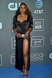 Issa Rae attends the 24th annual Critics' Choice Awards at Barker Hangar on January 13, 2019 in Santa Monica, CA, USA. Photo by Lionel Hahn/ABACAPRESS.COM