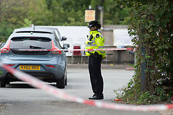 ©Licensed to London News Pictures 06/09/2020  Bexleyheath, UK. Five men have been injured with one in a life threatening condition in hospital after a stabbing attack last night in Bexleyheath, South East London. Police have put a cordon in place. Photo credit: Grant Falvey/LNP