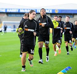 Bristol Rovers' Bradley Goldberg - Photo mandatory by-line: Neil Brookman/JMP - Mobile: 07966 386802 - 22/11/2014 - Sport - Football - Chester - Deva Stadium - Chester v Bristol Rovers - Vanarama Football Conference