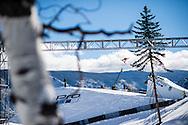 Athletes compete in Women's Snowboard Slopestyle at the 2016 X Games Aspen in Aspen, CO. ©Brett Wilhelm/ESPN